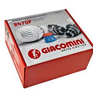 Комплект термостатичний GIACOMINI прямий R470FX013