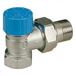 Кутовий термостатичний клапан GIACOMINI 1/2 R401H003