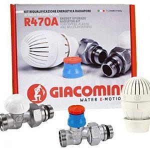 Комплект термостатичний з зовнішньою різьбою GIACOMINI R470А Х 003