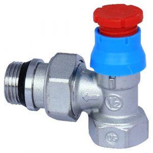 """Кутовий термостатичний клапан GIACOMINI """"½"""" R401Х133"""