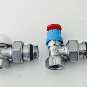 Комплект термостатичний GIACOMINI кутовий R470FX003