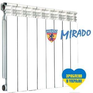 Радіатор Mirado 500/ 300 на 96 мм біметал