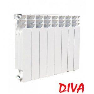 Радіатор Diva 500/ 300 на 96 мм біметал (Україна)