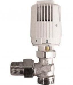 HERZ RTL регулятор-обмежувач температури кутовий