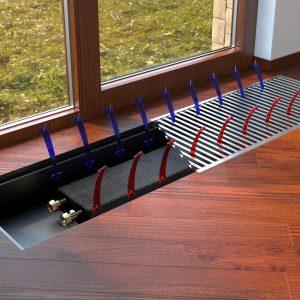 Внутрішньо - підлогові конвектори