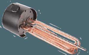 Електричний тен, вбудований у фланець REU 18-2,5
