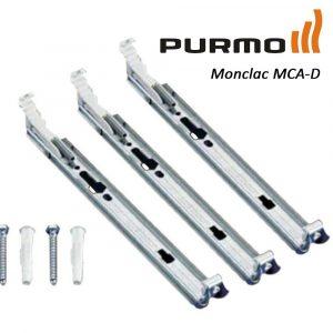 Кріплення настінне Monclac для PURMO H200 21, 22 тип (набір з 3х кріплень) фото