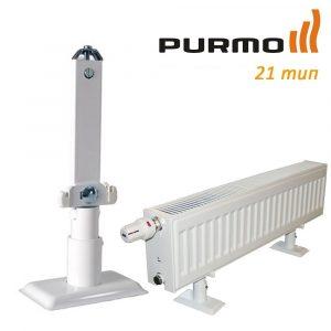 Кріплення підлогове Monclac для PURMO H200 21 тип (1 шт.) фото