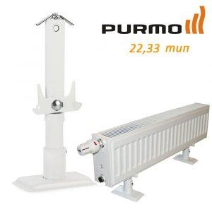 Кріплення підлогове Monclac для PURMO H200 22, 33, 44 тип (1 шт.) фото