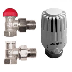 Термостатичний комплект кутовий Herz V 772463 (1776016 + 1772467 + 1372441)
