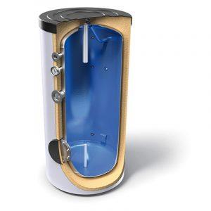 Буферні ємності для гарячої води без теплообмінників