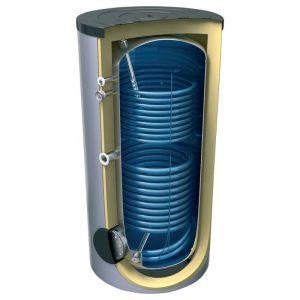 Накопичувальні водонагрівачі з двома теплообмінниками