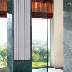 Вертикальний дизайн радіатор Aurora подвійний 1600x480 мм 1646 Вт