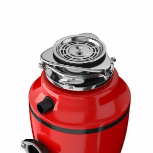 Диспоузер (кухонний подрібнювач харчових відходів для раковини) модель  SA700BB червоний
