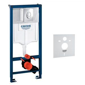 Інсталяція для унітазу 2 в 1 Grohe Rapid SL 3872100137131000