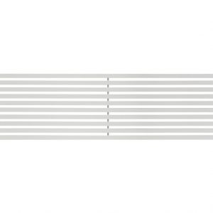 Горизонтальний трубчастий радіатор BQH Quantum  H-405 мм, L-1000 мм Betatherm Білий