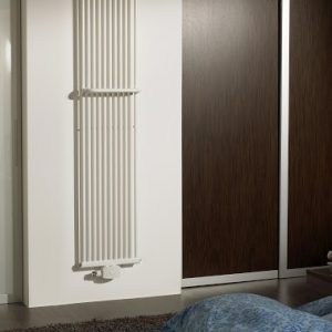 Вертикальний трубчастий радіатор PS Style 1 H-1800 мм, L-405 мм Betatherm Білий