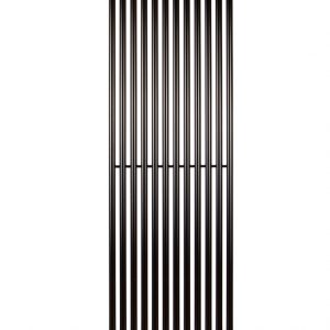 Вертикальний радіатор Praktikum 1, H-1800 мм, L-463 мм Чорний
