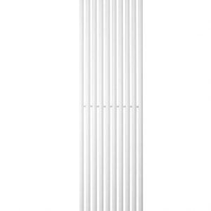 Вертикальний радіатор Praktikum 1, H-1800 мм, L-387 мм Білий