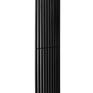 Вертикальний трубчастий радіатор BQ Quantum H-1800 мм, L-405 мм Чорний