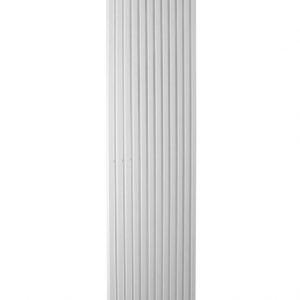 Вертикальний трубчастий радіатор Betatherm Quantum 1 H-1800 мм, L-485 мм Білий