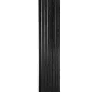 Вертикальний радіатор Blende 2 H-1600 мм, L-394 мм Betatherm Чорний