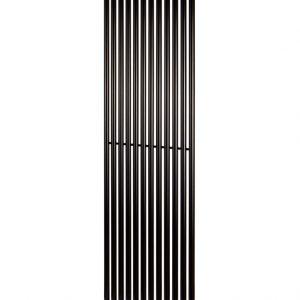 Вертикальний радіатор Praktikum 1 H-2000 мм, L-501 мм Betatherm Чорний