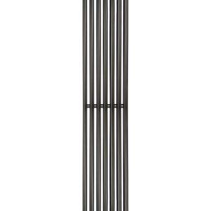 Дизайн радіатори Praktikum 2, H-1800 mm, L-275 mm Betatherm Чорний