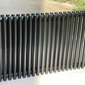 Горизонтальний радіатор Praktikum 2, H-500 mm, L-805 mm Betatherm Чорний