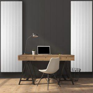 Дизайнерський радіатор BETATHERM Terra H-1800 мм, L-501 мм Білий