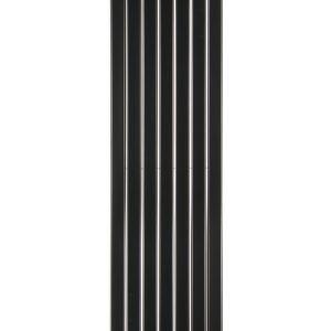 Вертикальний радіатор Blende 1 H-1400 мм, L-394 мм Betatherm Чорний