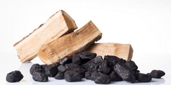 coal-and-log